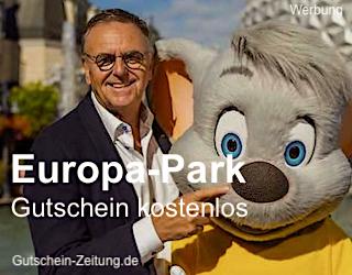 Gutschein-Zeitung Europa-Park Gutschein kostenlos