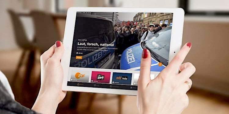 ZDFmediathek App Dunkelmodus Nachtmodus aktivieren - so geht das