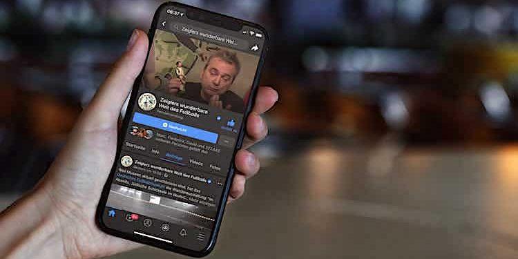 Facebook Dark Mode Nachtmodus bald für alle App-Nutzer