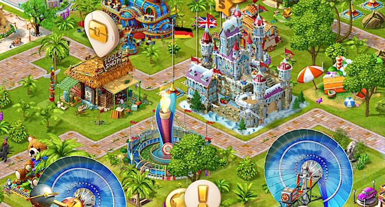 Paradise Island Freunde Nachbarn