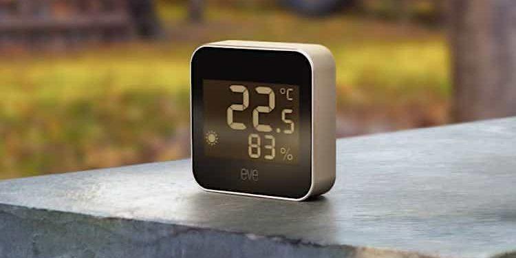 Eve Weather: HomeKit Wetterstation startet bereits im März 2021