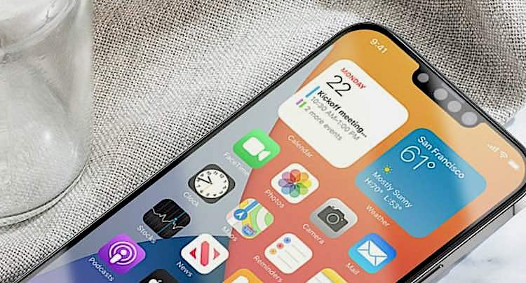 Apple: Erste Bilder zeigen kleine iPhone 13 Notch