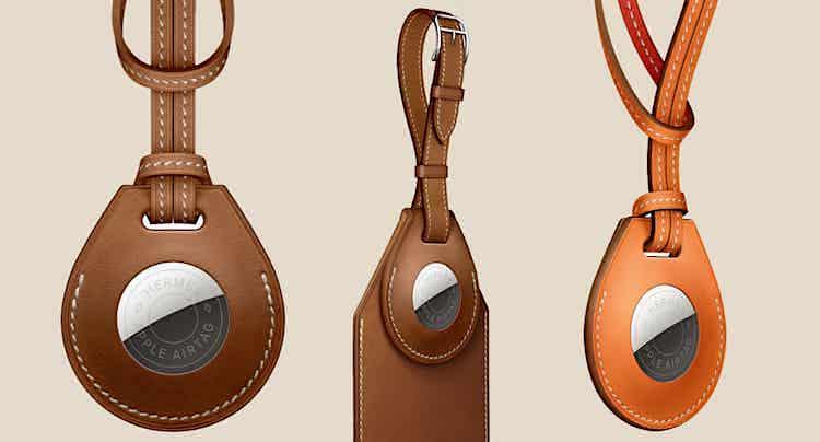 Apple: Hermès-Anhänger für AirTag als Luxusartikel